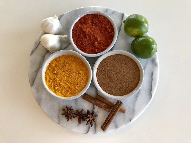 Ayurvedic Spices and Ingredients