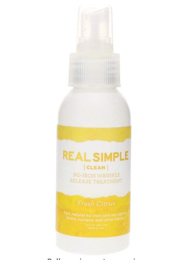 Real Simple Wrinkle Release Spray
