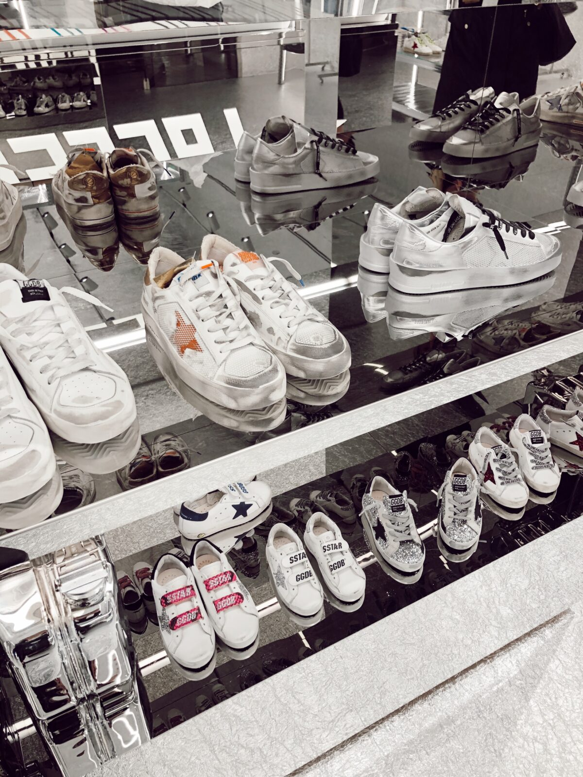 Golden Goose Store Laces up at