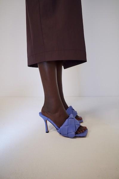Padded sandals from Bottega Veneta ($880)