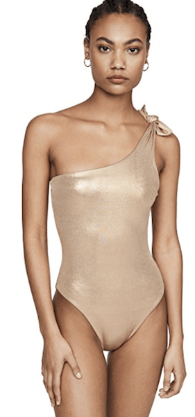 Sara Cristina One Shoulder One Piece