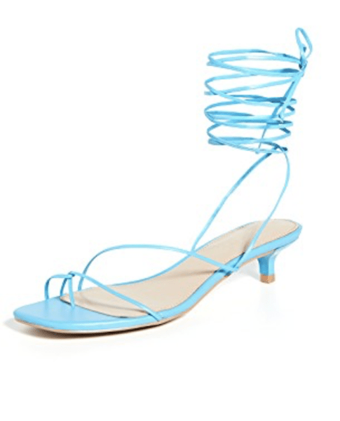 Villa Rouge Blue Sandals