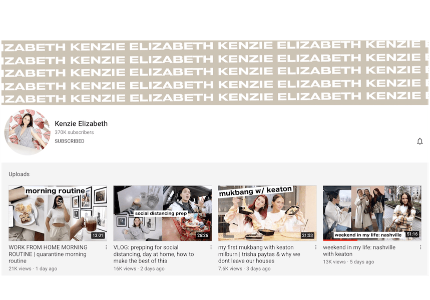 Kenzie Elizabeth