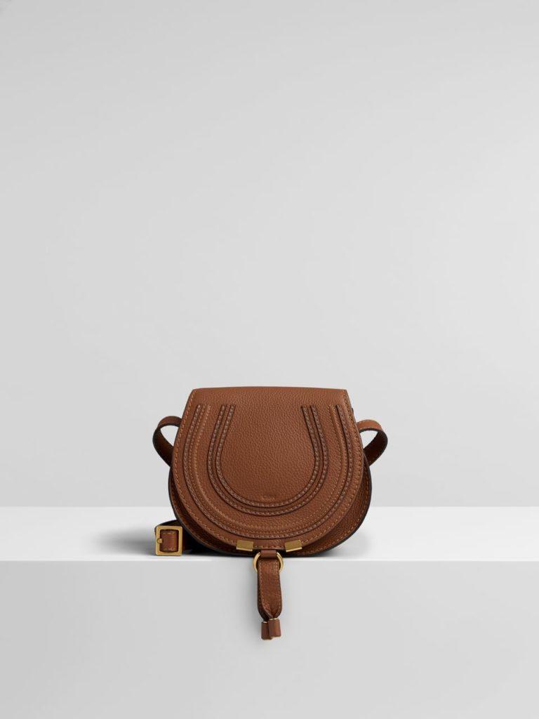 The iconic Chloé Marcie mini saddle bag.