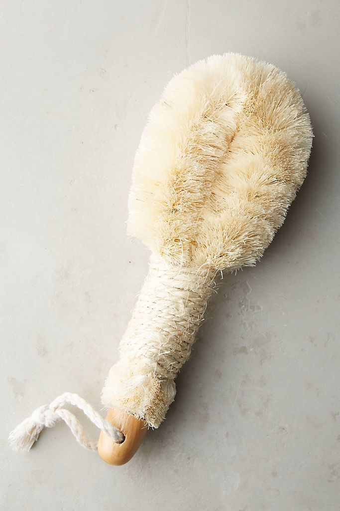 Baudelaire Sisal Bath Brush, $10, anthropologie.com