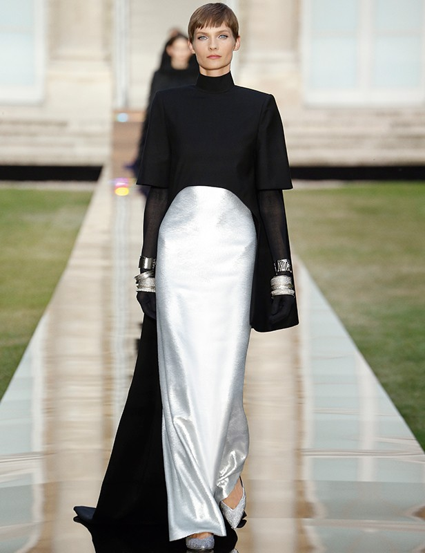 A look from Keller's Fall/Winter 2018 Haute Couture show.