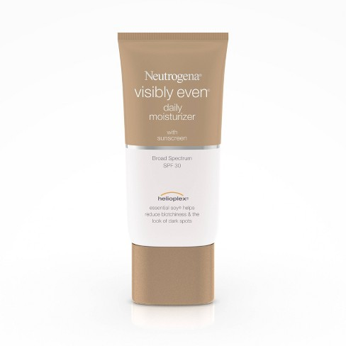 Neutrogena Visibly Even Daily Facial Moisturizer, SPF 30, $13.39, target.com