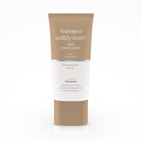 Neutrogena Visibly Even Daily Facial Moisturizer, SPF 30, $13.39, target.com