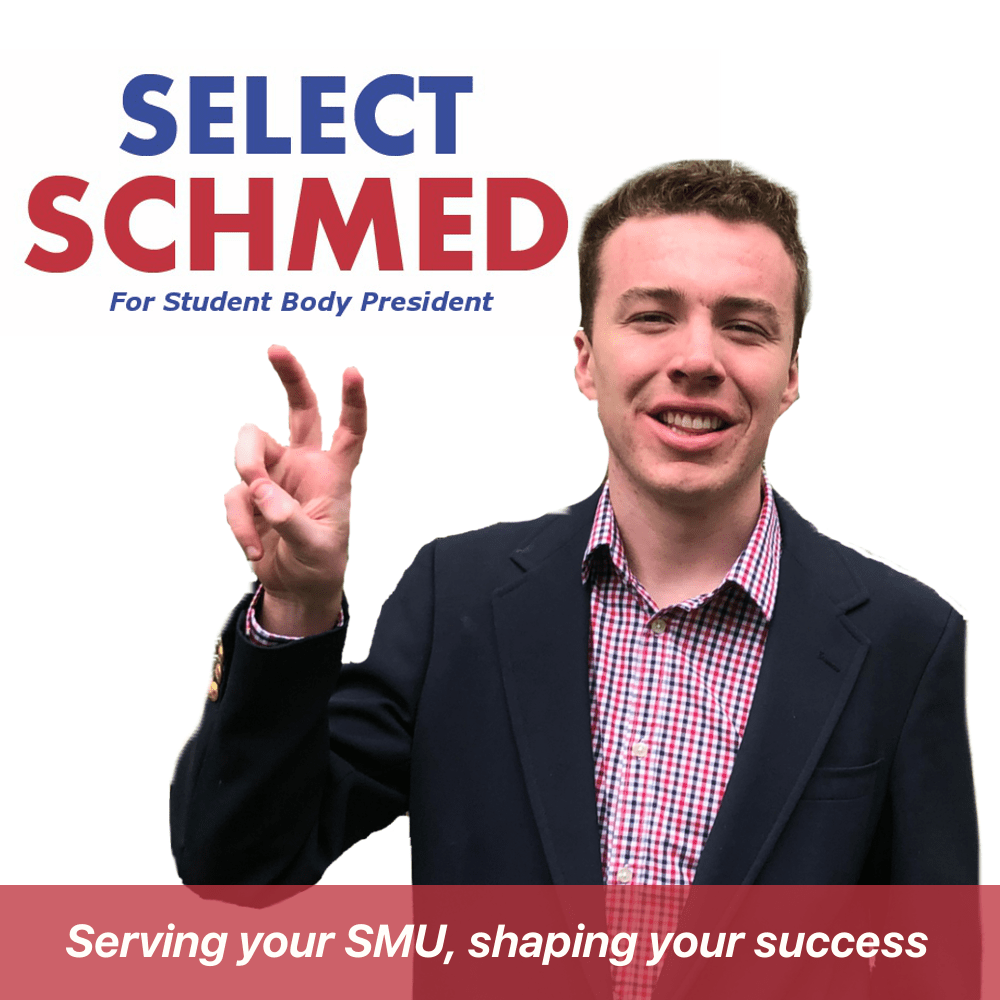 """Brent Schmedding throws a """"Pony Up!"""" for one of his campaign graphics. Image courtesy of Brent Schmedding."""