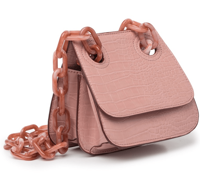 NORDSTROM RACK Croc Embossed Shoulder Flap Bag ($39.97)