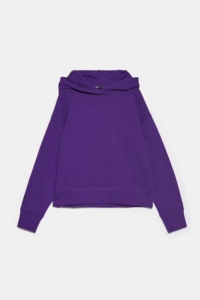 Zara Basic Hoodie Sweatshirt