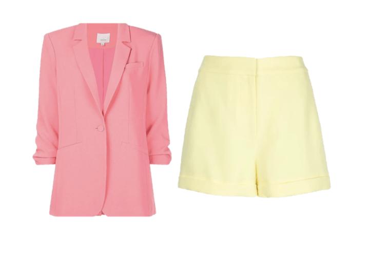 Cinq a Sept Blazer and Shorts