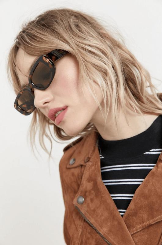 Sausalito Rectangle Sunglasses - $16