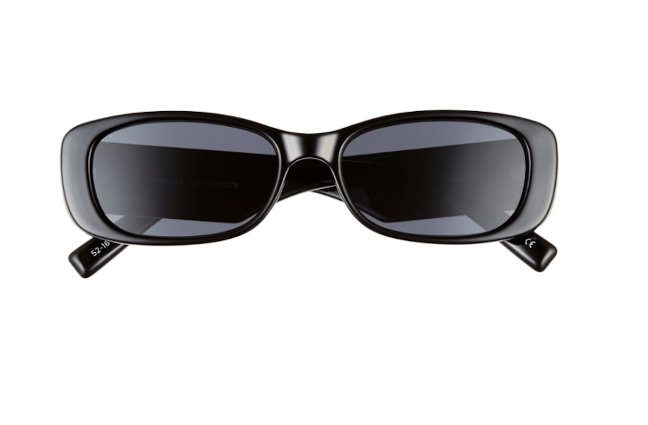 Le Specs Unreal 50mm Rectangle Sunglasses - $79