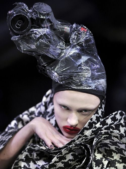 """From the designer&squot;s Fall/Winter 2009 show, """"Horn of Plenty."""""""