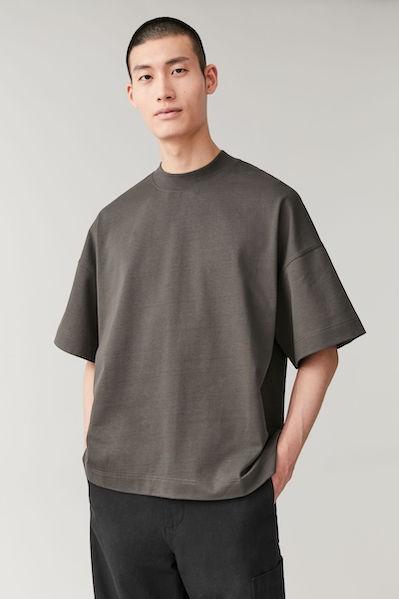 SHOULDER DROP T-SHIRT in Dark Grey by COS ($45)