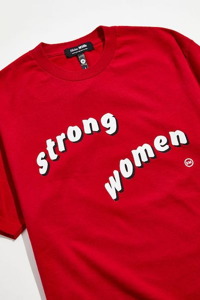 Skim Milk Strong Women Tee from Urban Outfitters ($39)