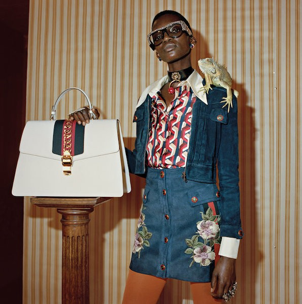 Gucci's Pre-Fall 2017 campaign drew inspiration from England's underground Northern Soul movement, receiving praise for featuring Black models throughout the campaign.