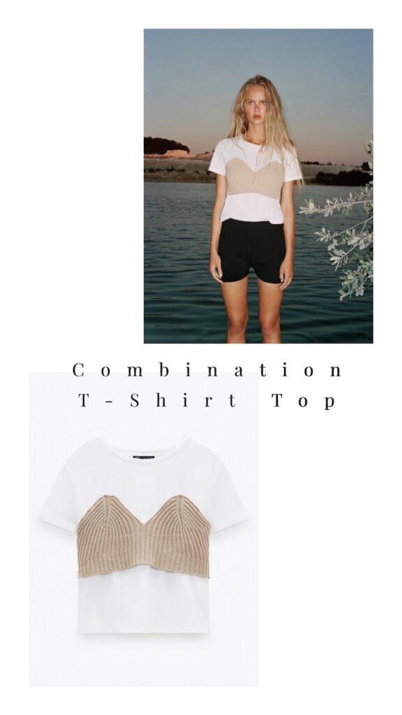 Combination T-Shirt Top = $29.90