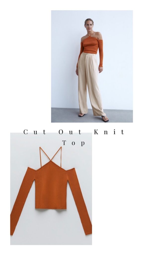 Cut out Knit Top = $35.90