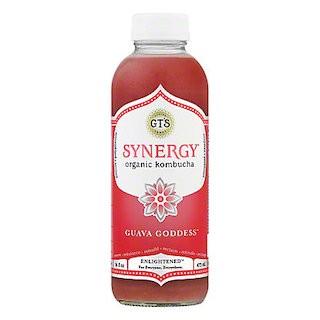 GT's Synergy Organic Kombucha, Guava Goddess