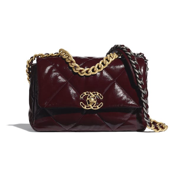 The Chanel 19 bag is one of the newest luxury it-items.