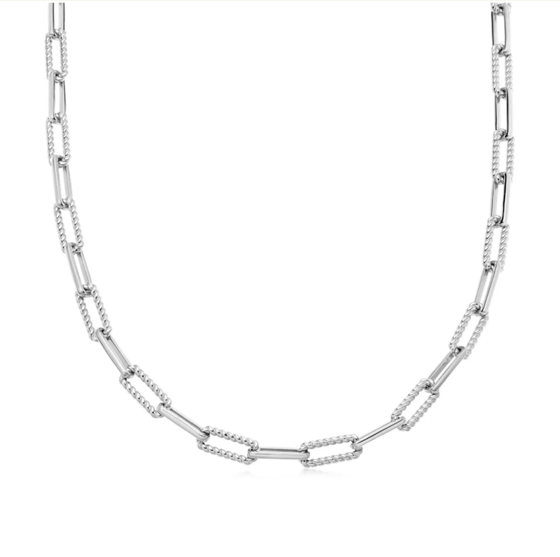 Silver Coterie Chain Necklace - $232