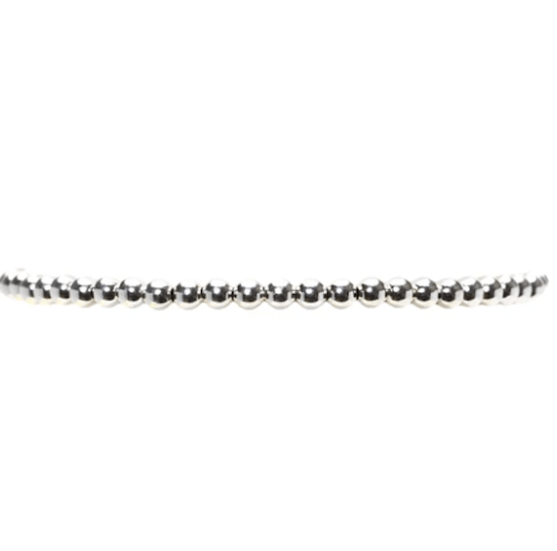 3MM Sterling Silver Bracelet - $48