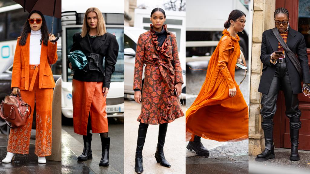 Orange at Paris Fashion Week for Fall 2020