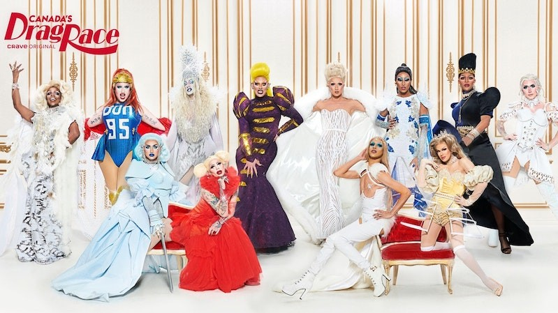 The queens of season 1 of Canada's Drag Race.
