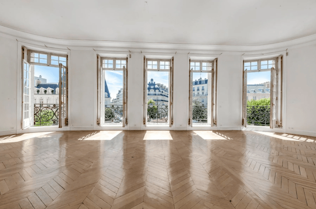 These French doors are a dream.