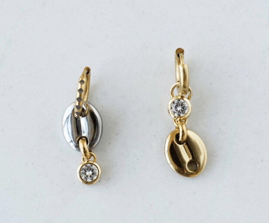 Cara Mismatched Earrings - $74
