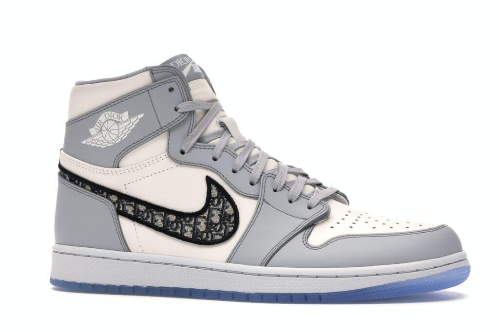 """Dior x Nike """"Air Dior"""" Jordan High Tops, $25,000, Farfetch.com"""