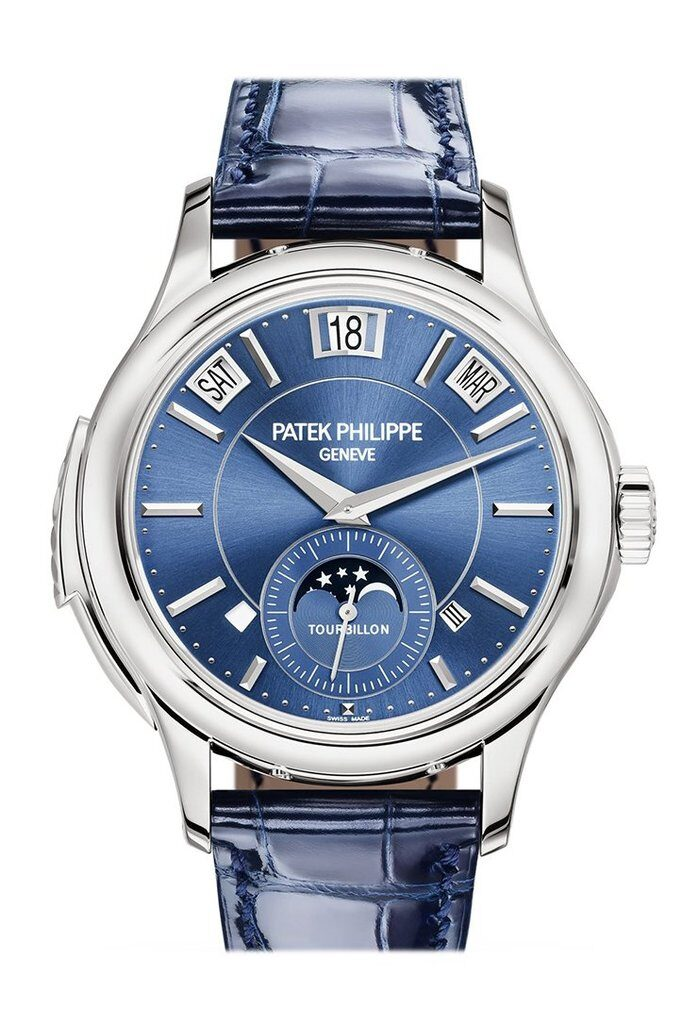 Patek Philippe Minute Reader Tourbillon; $900,000, watchguynyc.
