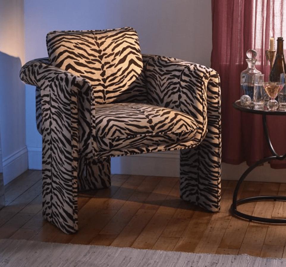 Floria Velvet Chair ($369)