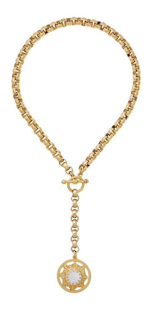 Brinker & Eliza Verona Y—Chain Necklace -  $223