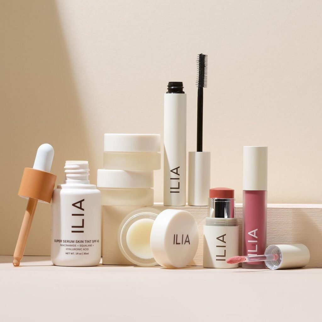 Ilia beauty's lineup of vegan, all-natural, and cruelty-free products that have taken the makeup world by storm.