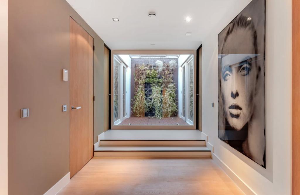 An ethereal hallway.