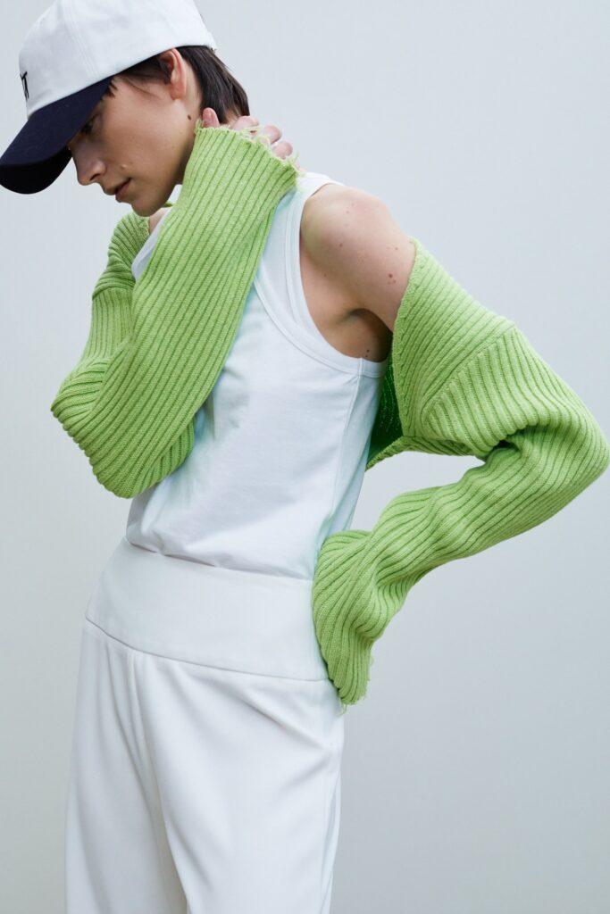 Spring Sweater Sleeve, Apple Green ($78)
