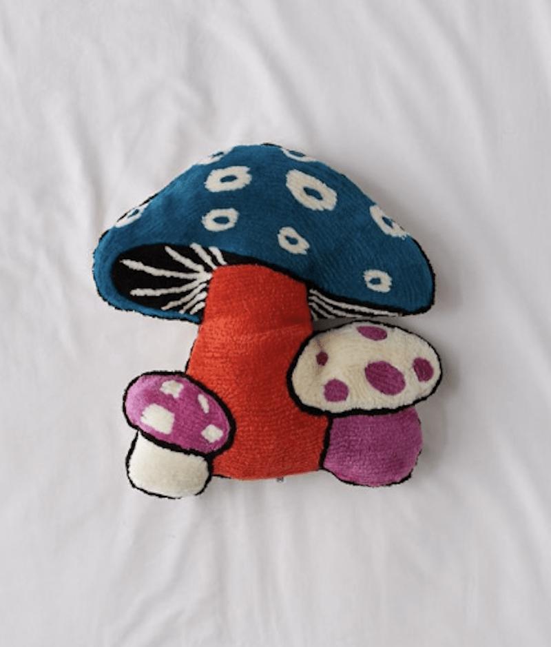 Tufted Mushroom Throw Pillow ($49)