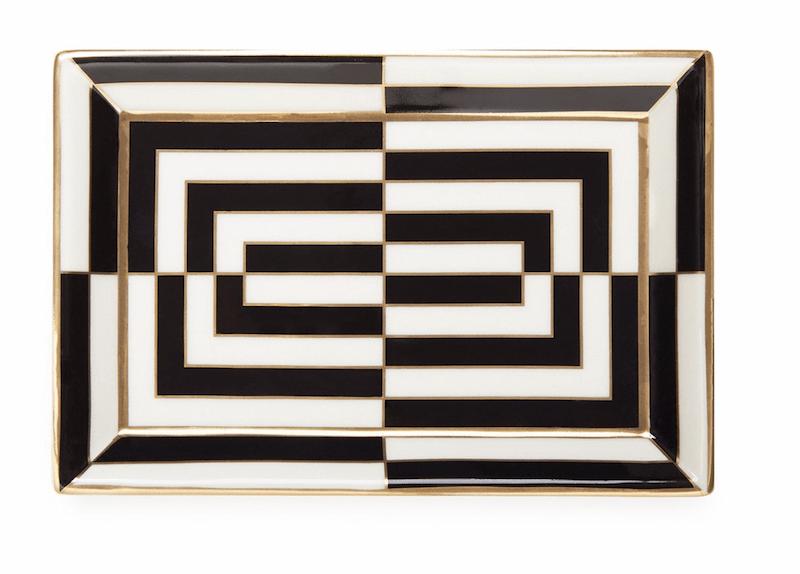 Op Art Rectangle Tray ($68)
