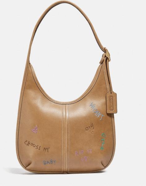 Ergo Shoulder Bag With Embroidery - $595