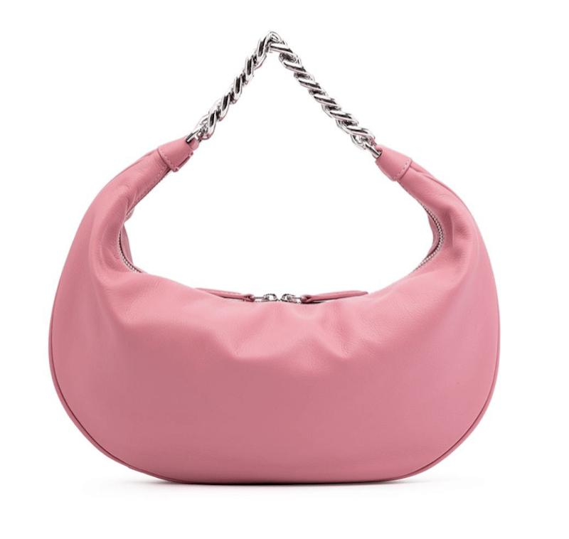 Staud Sasha Leather Shoulder Bag - $347