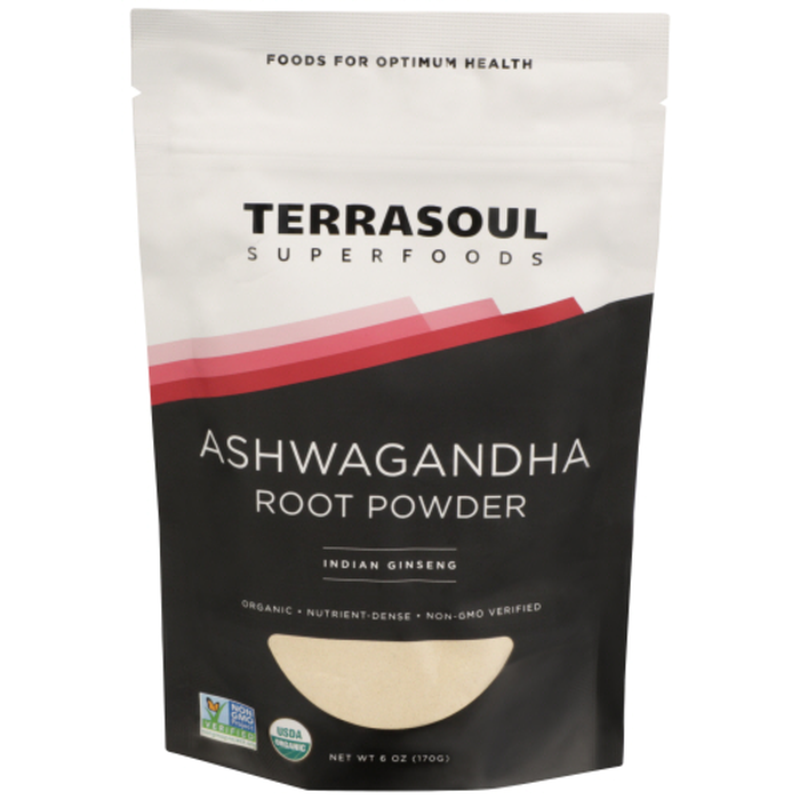 The exact Ashwagandha I buy from Terrasoul Superfoods. $7, Central Market and Terrasoul.com