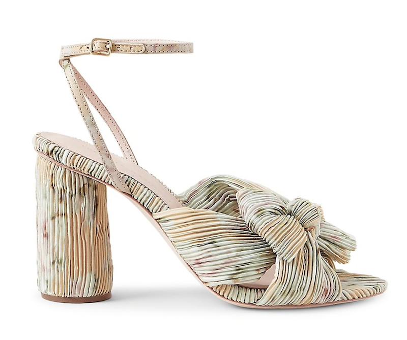 Loeffler Randall Camellia Knotted Floral Sandals ($395)