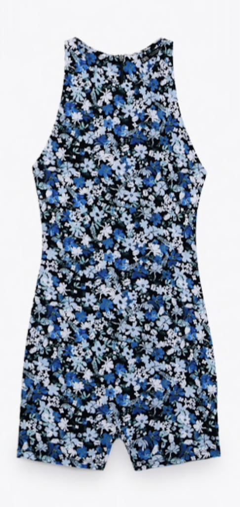 Floral Print Jumpsuit ($35.90)