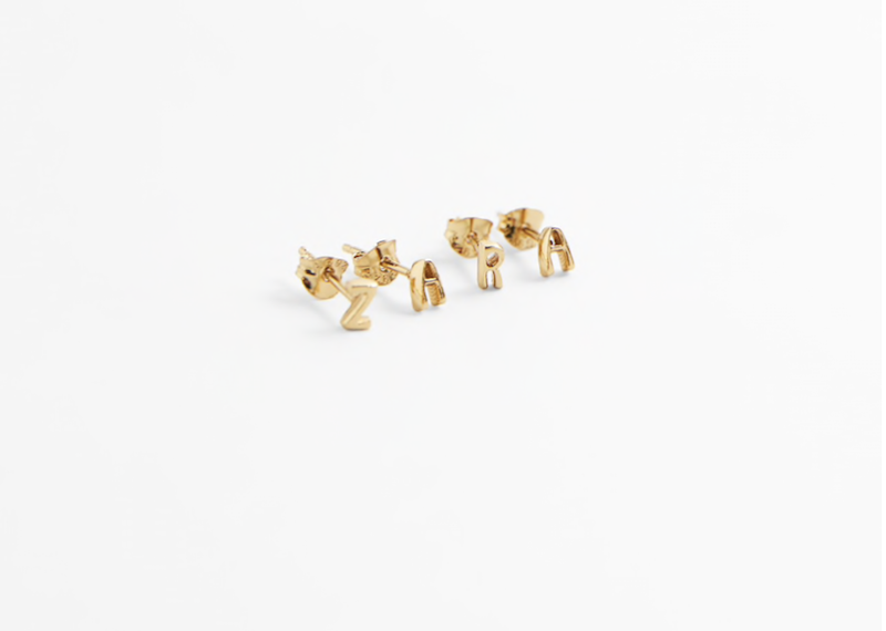 Zara Electroplated Gold Sterling Silver Earrings ($19.90)