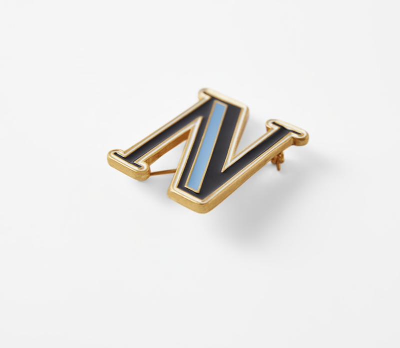 Zara Initial Brooch ($12.90)