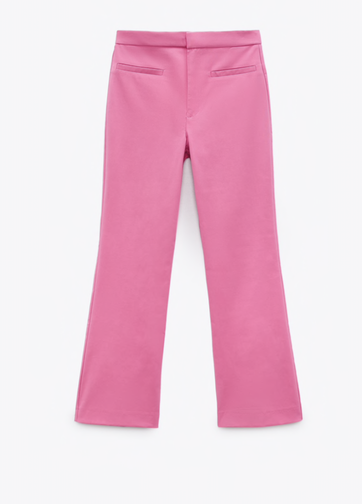 Zara Mini Flare Pants ($35.90)