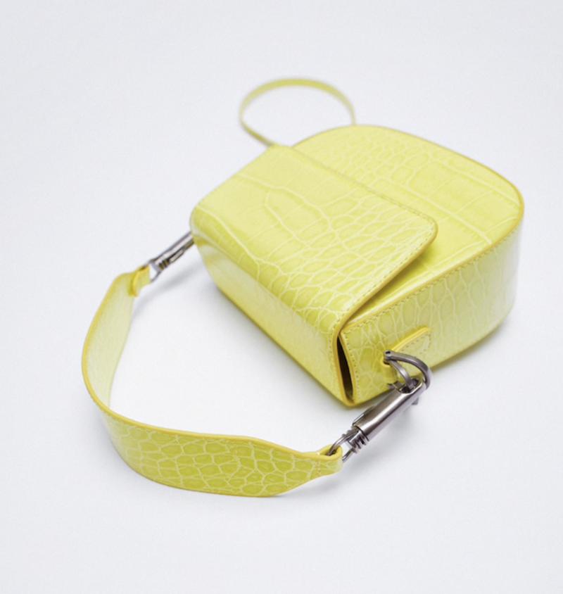 Zara Neon Animal Print Crossbody Bag ($29.90)